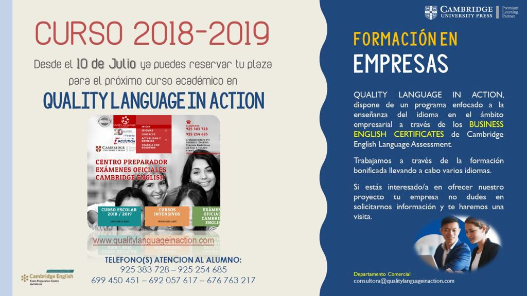 web curso quali langua action