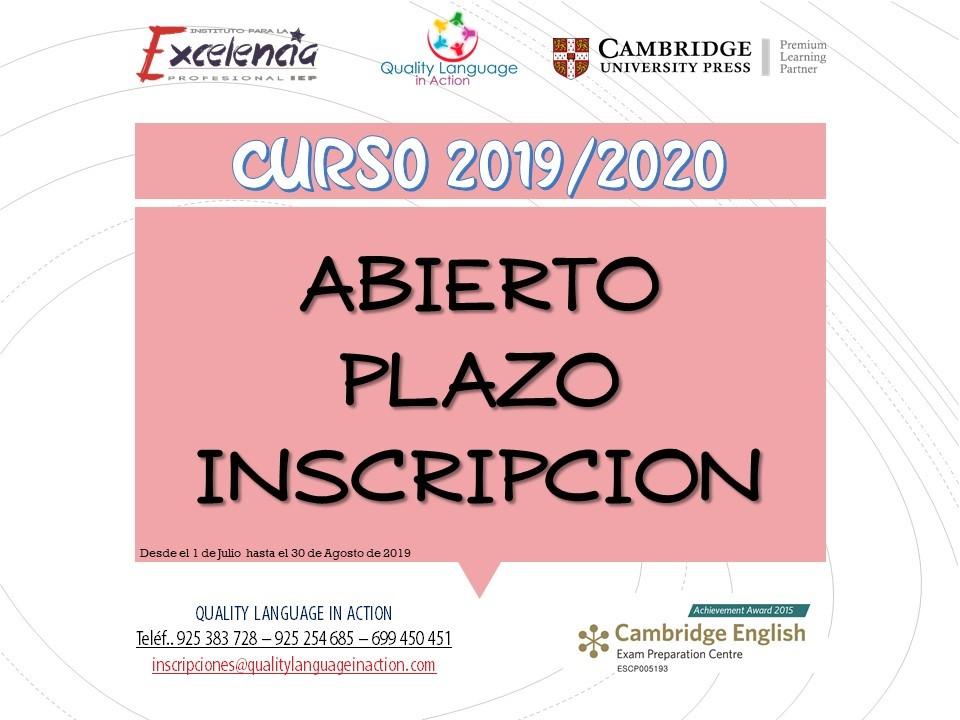 El 1 de julio se abre el plazo de inscripción en la Escuela Municipal de Idiomas
