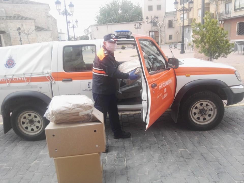 Donación de equipos de protección