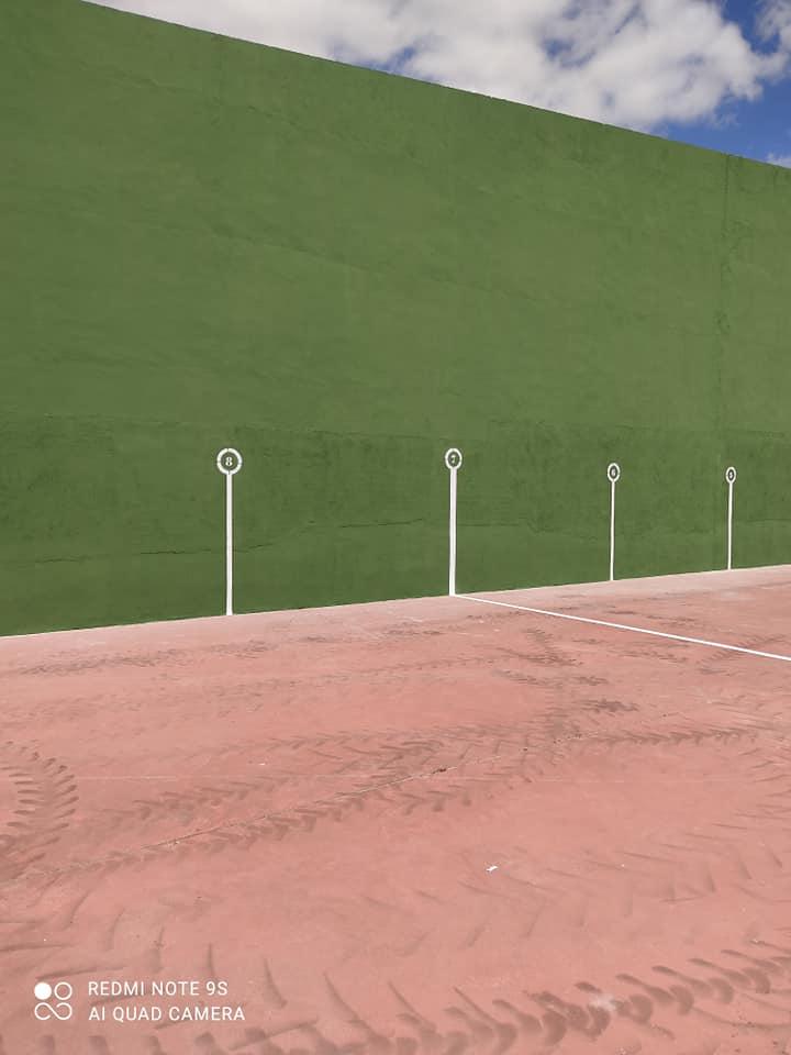 Arreglo de instalaciones deportivas